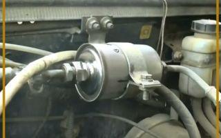 Замена топливного фильтра на ВАЗ 2107 инжектор