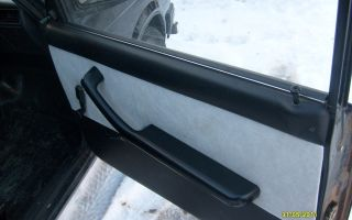 Обшивка дверей ВАЗ-2107 своими руками