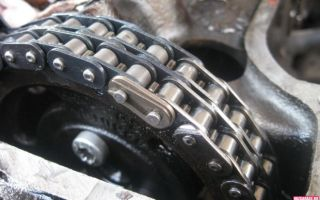 Как заменить цепь ГРМ на ВАЗ 2107