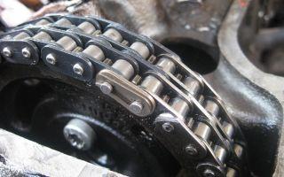 Про натяжение цепи на ВАЗ-2107