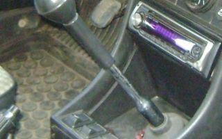 Самостоятельная замена рычага КПП ВАЗ 2107