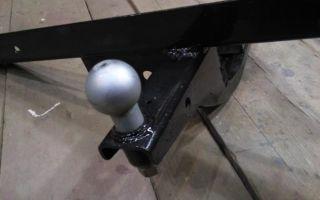 Устанавливаем фаркоп на ВАЗ-2107