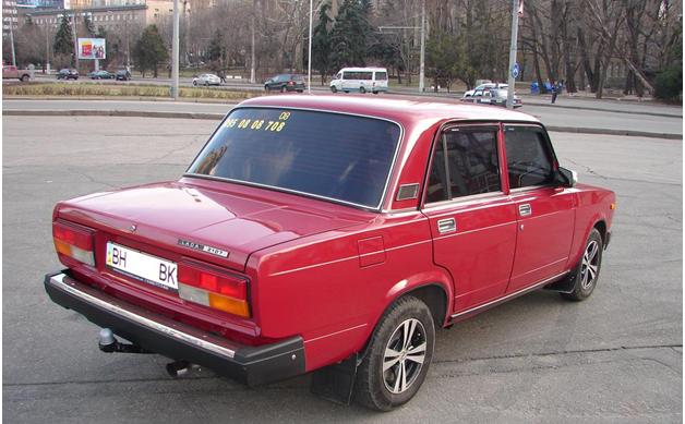 Внешний вид авто с тонировкой