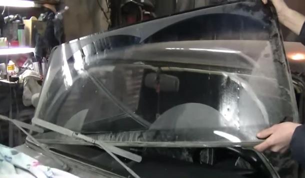 Замена ветрового стекла ваз 2114 своими руками 7
