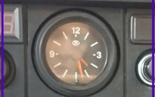 Распространенные неисправности часов ВАЗ 2107 и их модернизация