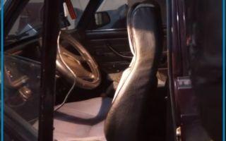 Как отремонтировать сломанную спинку сидения на ВАЗ 2107