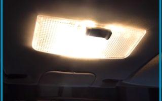 Как улучшить подсветку салона ВАЗ 2107