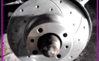 Как правильно заменить тормозные диски на ВАЗ 2107