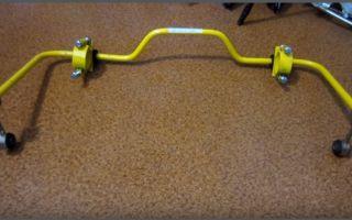 Про задний стабилизатор на ВАЗ-2107