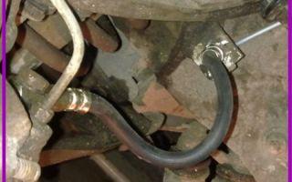 Как заменить тормозные шланги на автомобиле ВАЗ 2107
