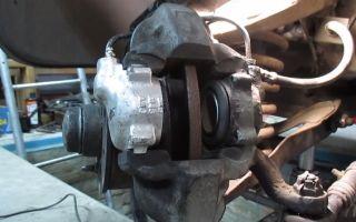 Замена переднего тормозного цилиндра ВАЗ 2107