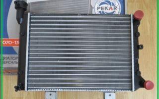 Конструкция, принцип работы и замена радиатора охлаждения ВАЗ 2107