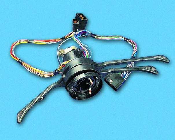 Подрулевой переключатель ваз 2107 схема подключения проводов