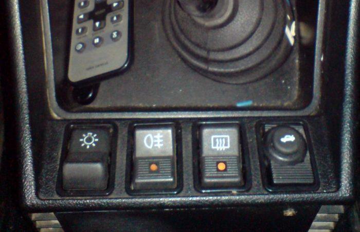 Один из вариантов расположения кнопки