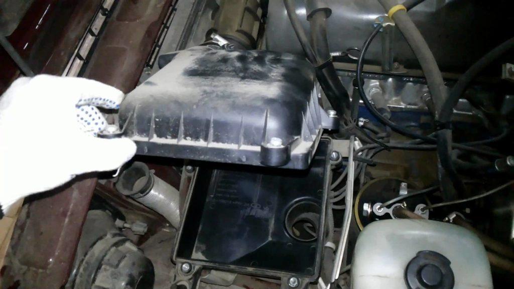 Установка воздушного фильтра ваз 2107