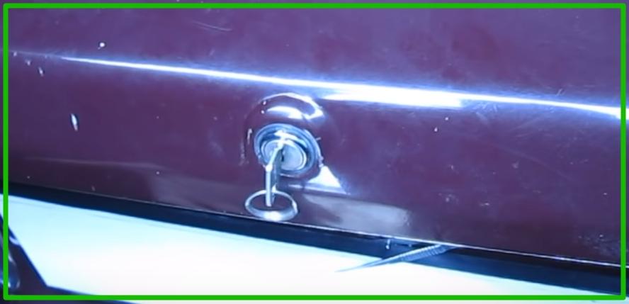 Механизм закрытия крышки багажника