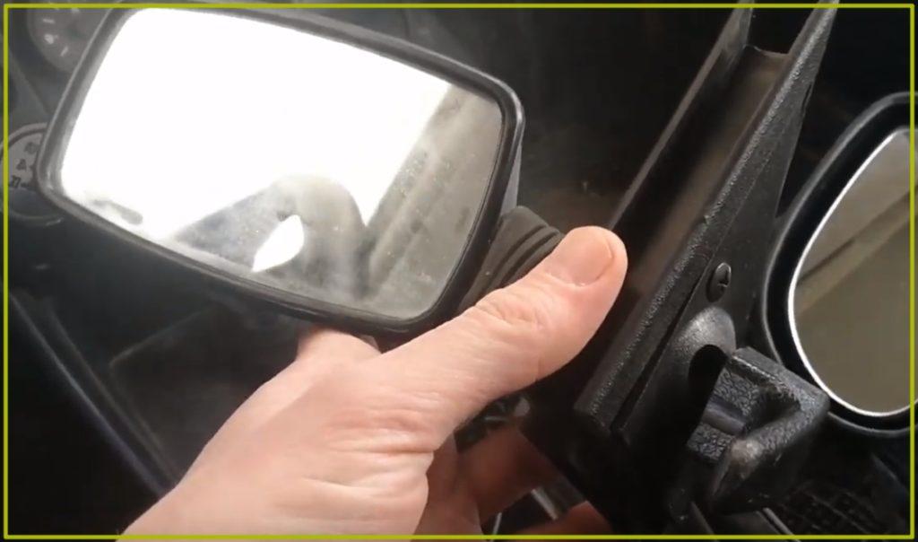 Заводское зеркало семерки