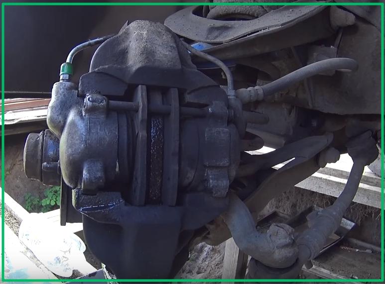 Суппорт переднего тормоза ВАЗ