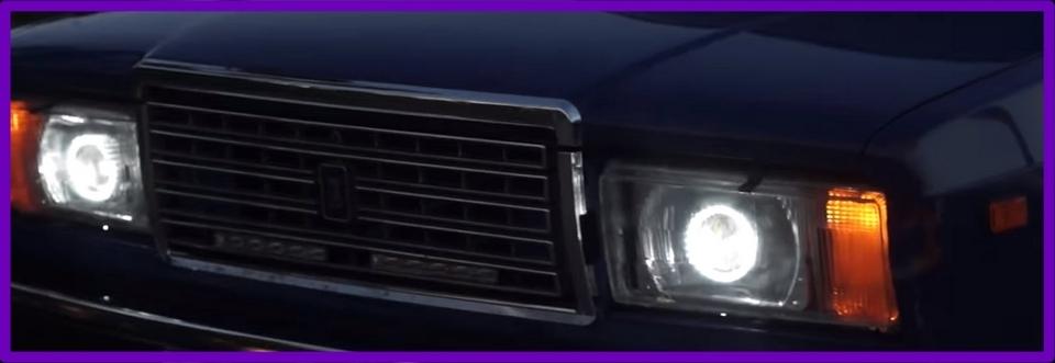 Ксеноновый свет на ВАЗ 2107