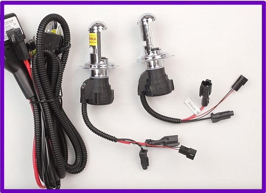 Биксеноновые лампочки на ВАЗ 2107