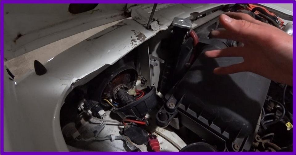 Установка газоразрядных ламп на авто