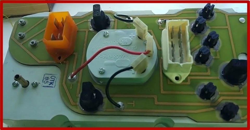 как отремонтировать подсветку приборки