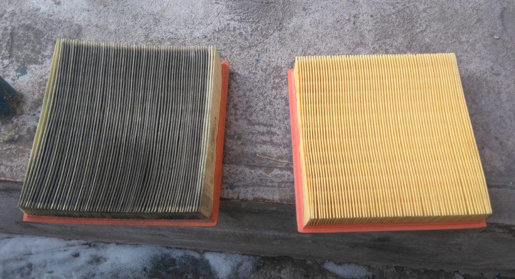 Сравнение воздушных фильтров